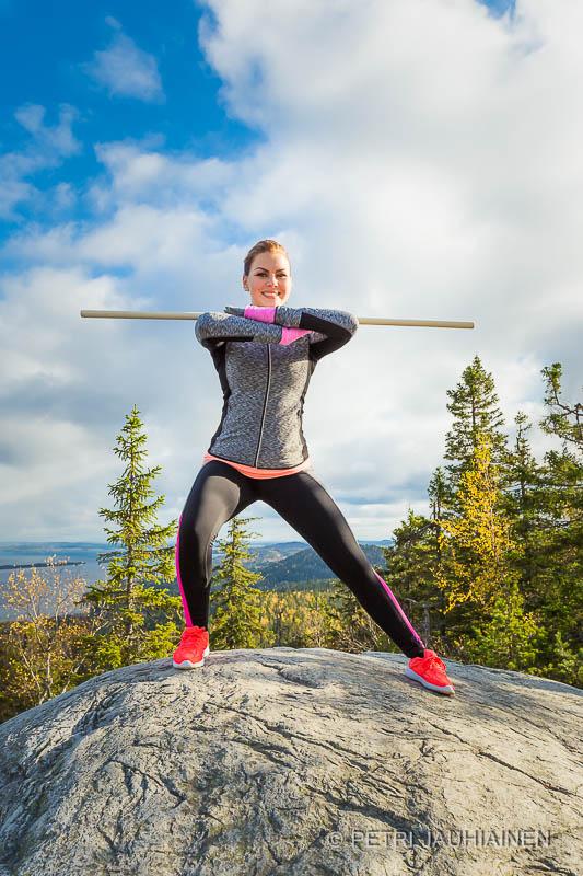 Fitness -kuvaukset Koli valokuvaaja Petri Jauhiainen Kuopio