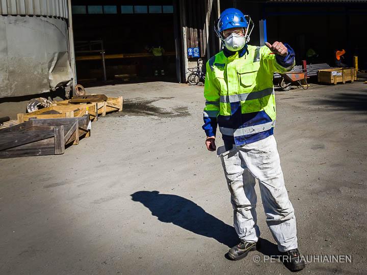 Teollisuuskuvaus valokuvaaja Petri Jauhiainen