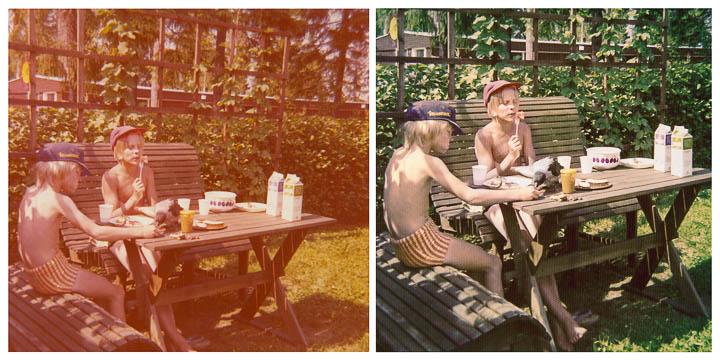 Vanhojen valokuvien retusointi valokuvaaja Petri Jauhiainen