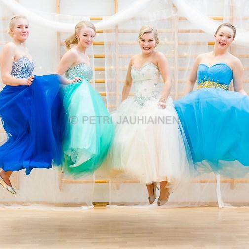 Vanhojen tanssit valokuvaaja Petri Jauhiainen