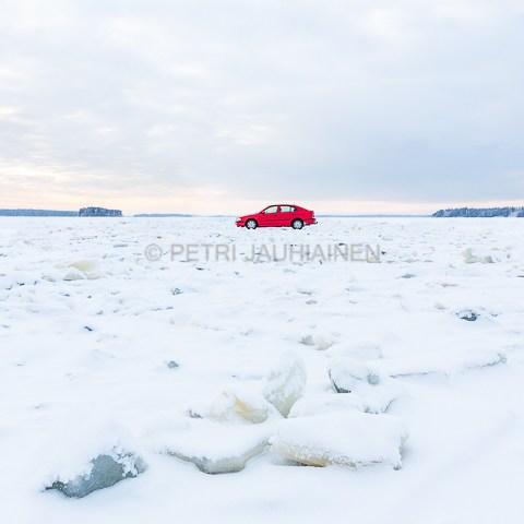 Jäätie valokuvaaja Petri Jauhiainen