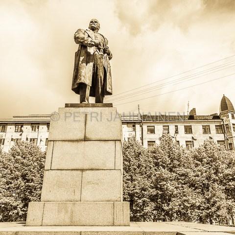 Lenin Viipuri valokuvaaja Petri Jauhiainen
