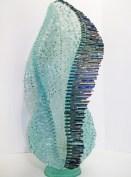 "Finch-Lagrima, Medium: Glass Size: 29.5"" x 14"" x 14"" Artist: Gundi Finch"