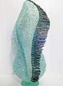 "Finch-Lagrima, Medium: Glass Size: 29.5"" x 14"" x 14"" Artist: Gundi Finch"