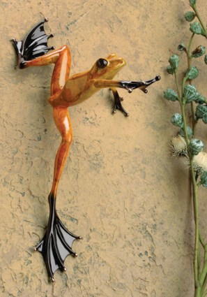 "High Dive, Medium: Bronze Catalog: BF86 Size: 14.25"" x 7.5"" x 6"" Artist: Frogman"