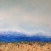 "Seabreeze, Medium: Original Oil on Rough Linen Size: 36"" x 36"" Artist: Georgeana Ireland"