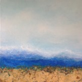 "Seabreeze, Medium: Original Oil on Rough Linen Size: 36"" x 36"" Artist: Georgeana Ireland"