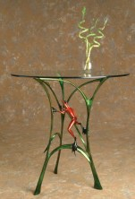 "Let's Do Lunch, Medium: Bronze Catalog: BF70 Size: 30"" x 24.75"" x 21.5"" Artist: Frogman"