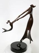 Dance Of Life, Medium: Bronze Size: Artist: Dan McDermott