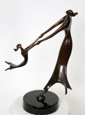 Dance Of Life, Medium: Bronze Size: Artist: Dan McDermott