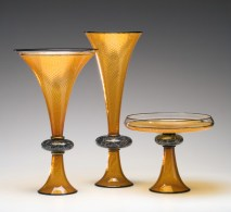 Satellite-Series, Medium: Glass Size: Artist: Kenny Pieper
