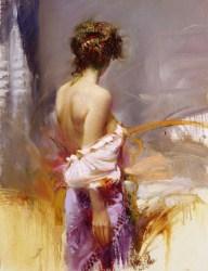 "Twilight, Medium: Hand Embellished Giclee Size: 26"" x 20"" Artist: Pino"