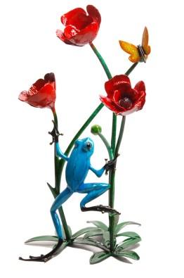 "Poppy, Medium: Bronze Release: 2013 Edition: 500 AP/50 Catalog: BF178 Size: 13.25"" x 11"" x 20"" Artist: Frogman"