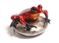 "Rockefeller, Medium: Bronze Release: 2013 Edition: 2500 AP/100 Catalog: BF174 Size: 4.25"" x 2.75"" x 4"" Artist: Frogman"