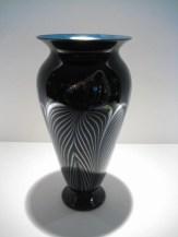 Strini-Black-Silver-Phoenix-Vase