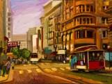 "Powell, Medium: Original Oil on Canvas over Panel Board Size: 30"" x 40"" Artist: Russ Wagner #20080"