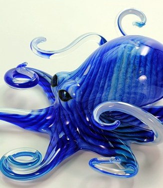 Blue Turquoise Octopus