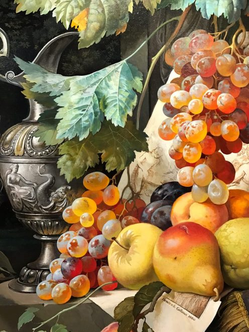 "Cascade of Fruits 32"" x 24"""
