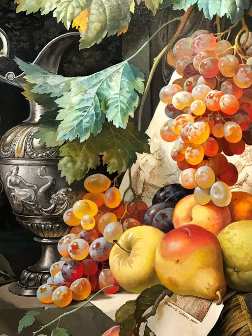 "Cascade of Fruits 32"" x 24"""