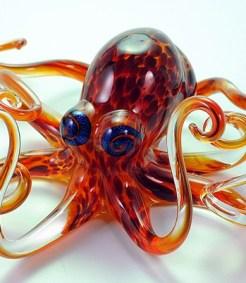 Geranium Violet Octopus