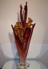 "Ruby Flora Artist: Barry Etner Size: 32"" x 16"" x 11"" #20598 Price: $8,550.00 REDUCED: $5,900.00"
