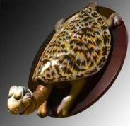 "Turtle Necked Sea Turtle 9.25"" x 16.75"" x 22"""