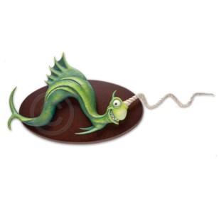 "Gimlet Fish 13.5"" x 13.5"" x 9.5"""