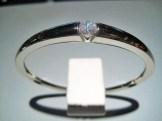 14K White Gold Bracelet with C.Z. Artist: Pascal Lacroix Catalog: 617-87-1