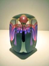 Ruby and Purple Faceted Veil Artist: Steve Festenmaker Catalog: 614-03-4