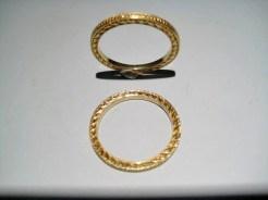 18K Gold Ring (Hand-engraved) Artist: Varna Catalog: 602-62-4