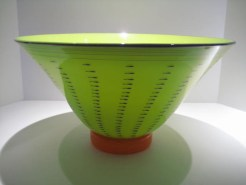 Red Bowl Artist: Bruce Pizzichillo Catalog: 516-44-61