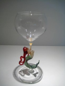 Ascending Mermaid Goblet Artist: Milow Townsend Catalog: 447-68-5