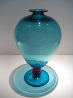 Large Turquoise Veronese Vase Artist: Robin Mix Catalog: 600-87-5 #19567 Price: $850.00 REDUCED: $495.00