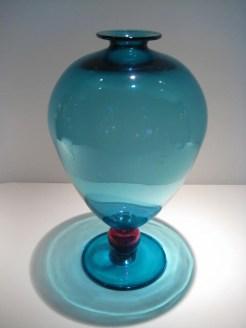Large Turquoise Veronese Vase Artist: Robin Mix Catalog: 600-87-5