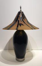 Bamboo Hand Blown Lamp Artist: Correia #19727