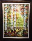 A Distant Light, Oil on Canvas Artist: Rodrigo 46x36 #21471
