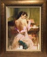 Ballgown, Hand embellished Giclee Artist: Pino 24x30 #17527