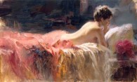 Softlight, Hand embellished Giclee Artist: Pino 24x40 #17523