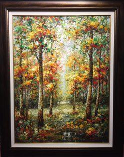 The Path Beyond Oil on Canvas Artist: Rodrigo 46x36 Inv. #21472