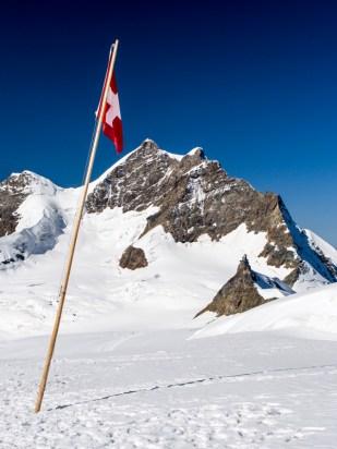 Tak trochu kýč s Jungfrau v pozadí