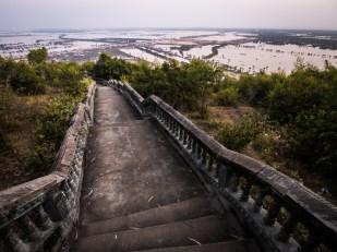 Hurá dolů a tuktukem už potmě zpět do Siem Reap