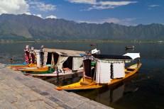 Shikara boats on Dal lake