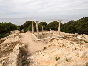 Stará římská vila na ostrůvku Giannutri