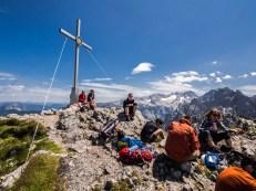 Gipfelkreuz a panorámata
