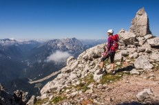 Mangart - Slovinská cesta