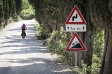 """Do Montalcina nám zbývá už """"jen"""" 15 km... bohužel do největšího krpálu celé L´Eroicy"""