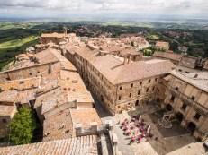 Montepulciano z radniční věže