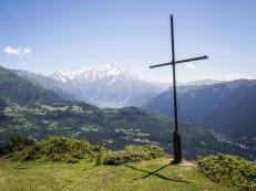 Kříž nad Mestií