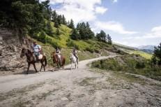 Pro ty, co umí jezdit na koni, je Tušetie rájem