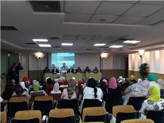 بالصور بترول بلاعيم تستضيف الاجتماع الثانى لأمانة المرأة بالنقابة العامة البترول (1)
